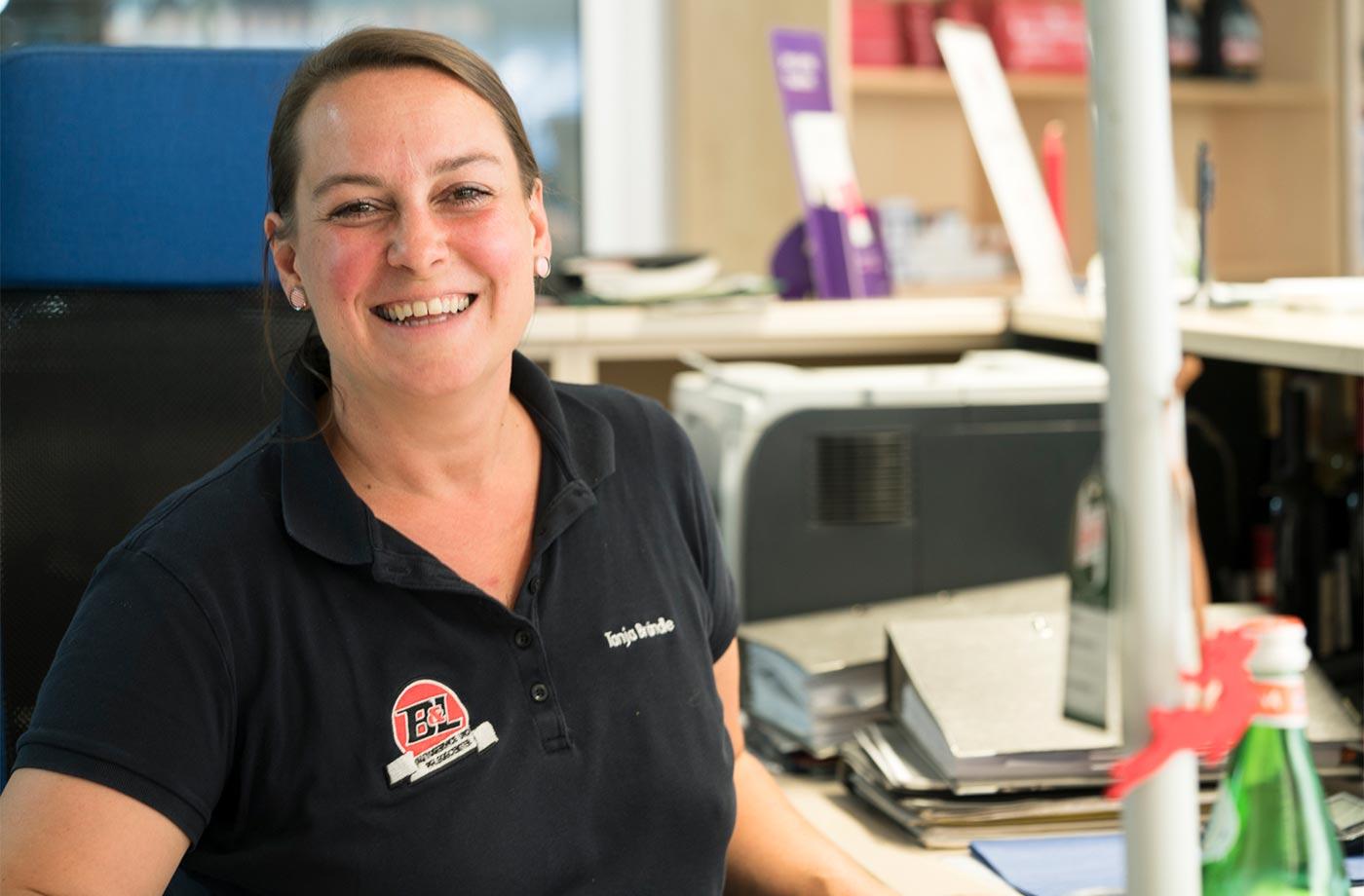 Die Chefin Tanja Brändle