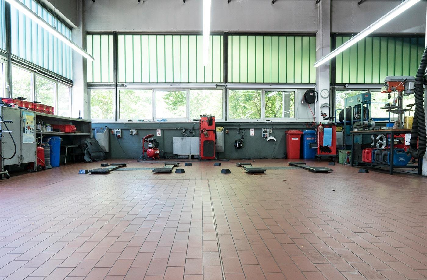 Werkstattplätze